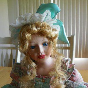 "16"" Porcelain Doll"